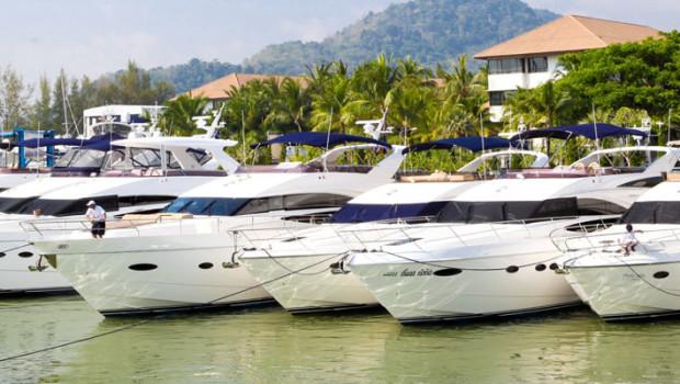 Princess Yachts Phuket Rendezvous 2012 - Koh Hong Krabi