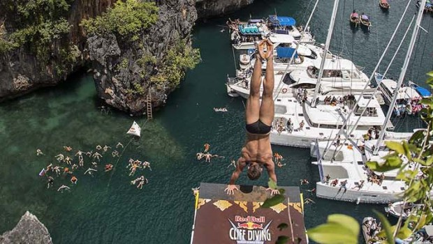 Red Bull Cliff Diving, October 2013
