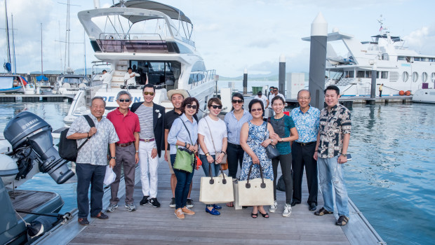 Bentley Singapore - Penang Princess Yachts convoy 2016