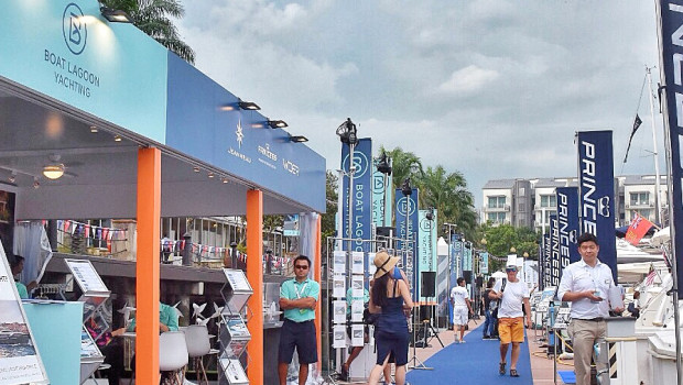 Boat Lagoon Yachting at the Singapore Yacht Show 6th - 9th April 2017