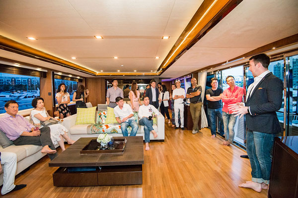 PRINCESS YACHTS SEA & JOHNNIE WALKER PRIVATE TASTING EVENT