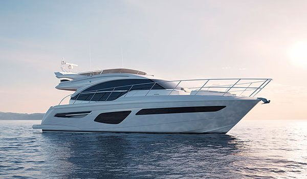 STEP ON BOARD THE ALL-NEW PRINCESS 55