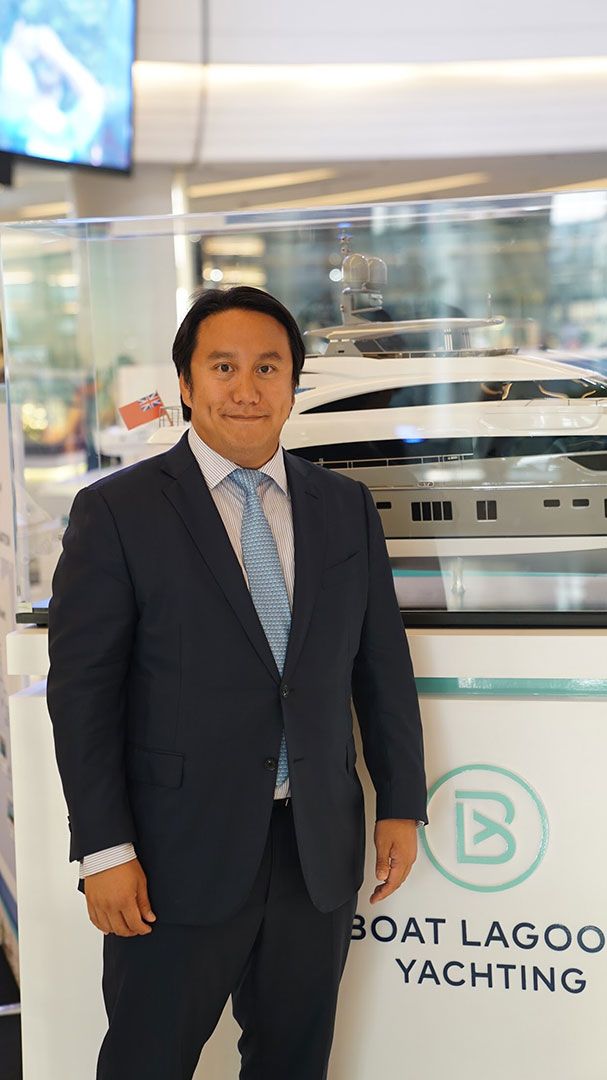 Mr. Vrit Yongsakul, Group Managing Director, Boat Lagoon Yachting