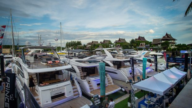 Asia Premiere of Princess 62 & S65 making waves at Phuket Rendezvous!