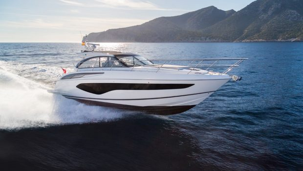 First official images of the Princess V50 Open