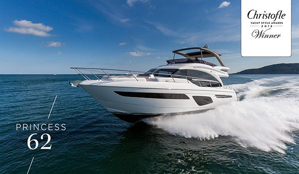 BOAT LAGOON YACHTING UNVEILS THE ALL-NEW PRINCESS 62 AT THE SINGAPORE YACHT SHOW