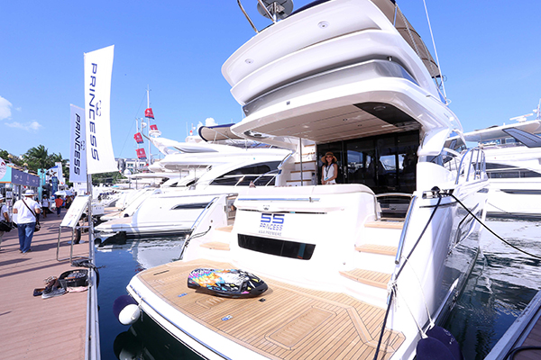 Boat Lagoon Yachting at the Singapore Yacht Show 2018 - Day 2