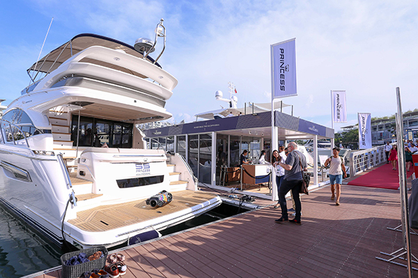 Highlights of Singapore Yacht Show 2018