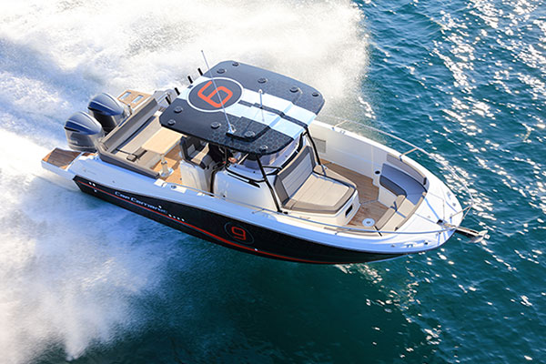 LE CAP CAMARAT 9.0 CENTER CONSOLE : A TRUE DAY BOAT FOR FSHING & FAMILY FUN