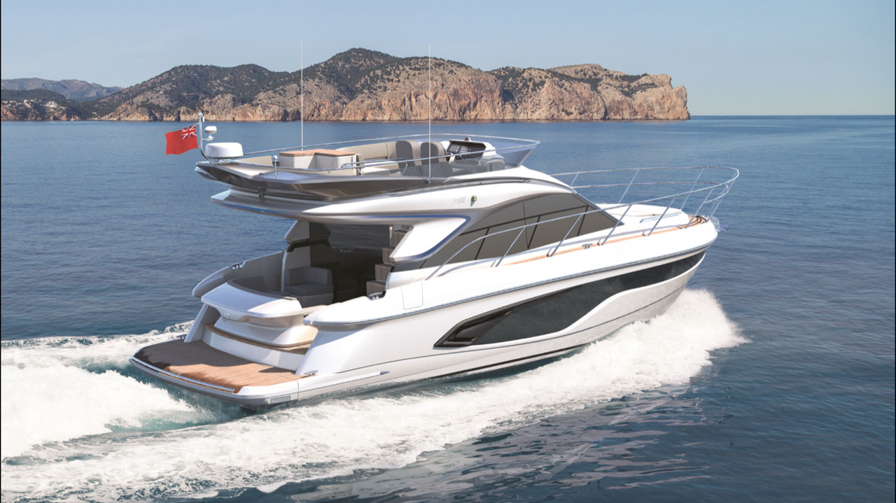 Princess F45 Boat Lagoon Yachting Asia S Premier