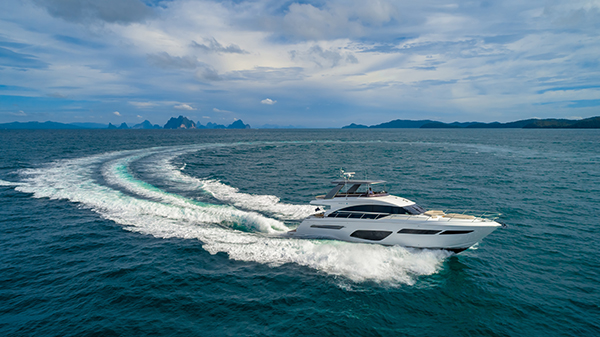 Greatest line up of Princess and Jeanneau at Ocean Marina Pattaya Boat Show 2018