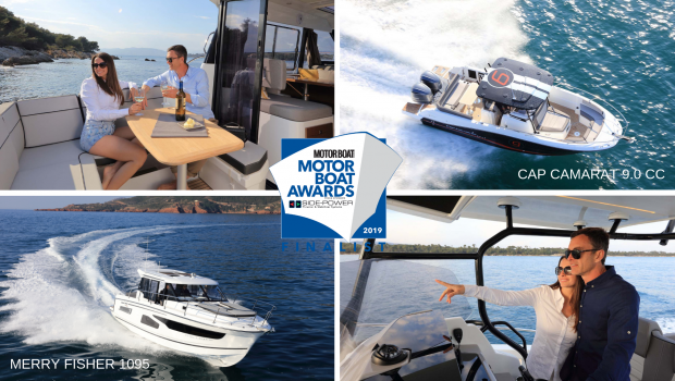 Two New Outboard Powerboats Nominated for 2019 Motor Boat of the Year Awards