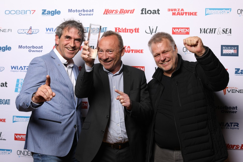 Jean-Paul Chapeleau and Armin Buchardi Winner Best of boats Award 2018