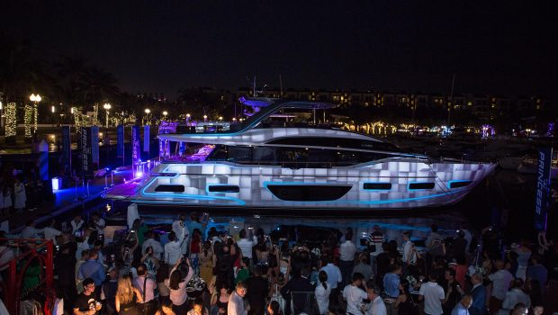 Princess Y85, F45 and R35 Asia launch and convoy cruise