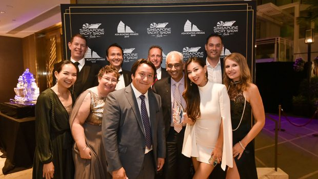"""Princess R35 awarded with """"Best Yacht Design Innovation"""" at Asia Boating Awards 2019"""