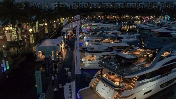 Unprecedented Asia launches at Singapore Yacht Show 2019