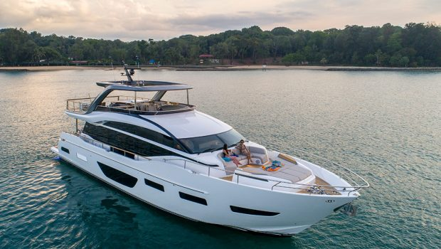 Princess Yachts Y85 Preview