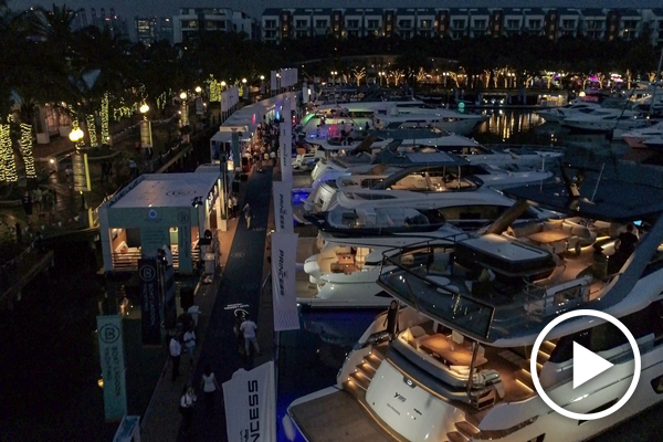 Singapore Yacht Show 2019 highlights