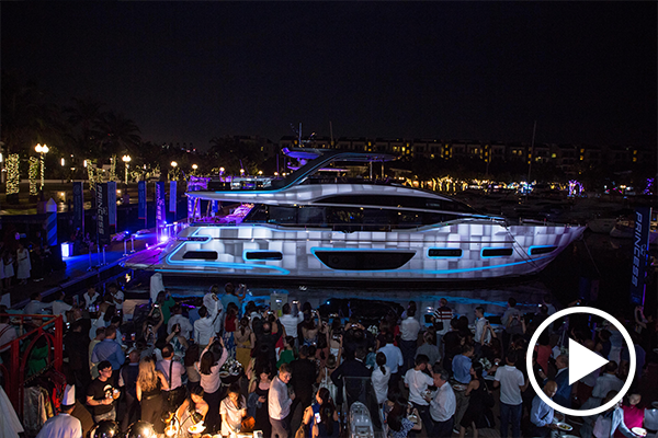 Spectacular Asia launch of Princess Y85, F45 and R35