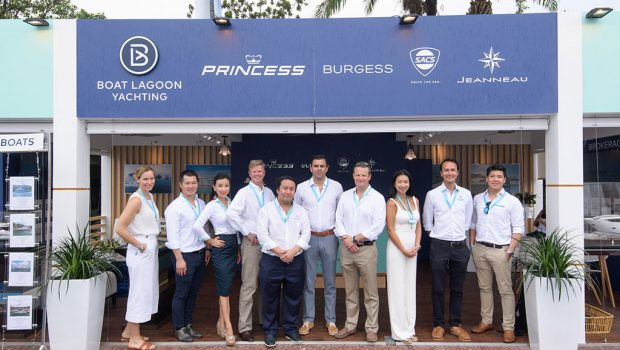 BOAT LAGOON YACHTING AND BURGESS ANNOUNCE NEW PARTNERSHIP TO PROVIDE WORLD CLASS SUPERYACHT SERVICES IN THAILAND.