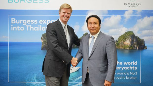 Launch of partnership between Boat Lagoon Yachting and Burgess