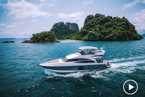 Princess 60 | 3 cabins, modern styling, social layout