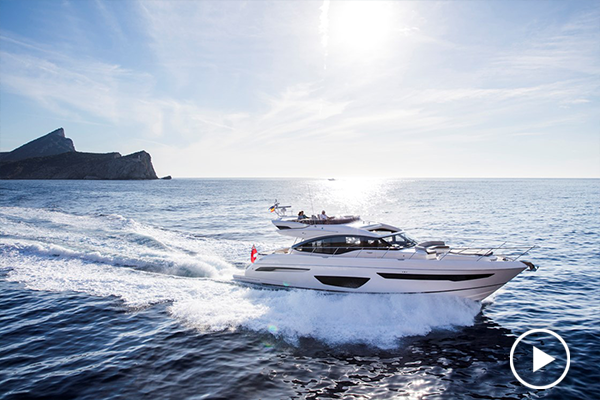 Princess 65 | on-board office, watersports toys, 4 cabins