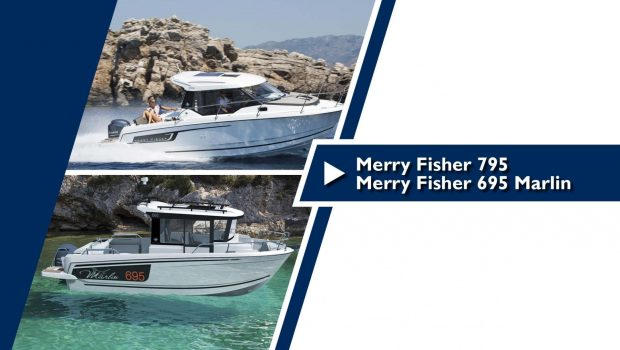A glimpse of the Merry Fisher 695 Marlin and Merry Fisher 795