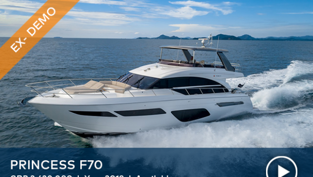 Arrival of new Princess F70