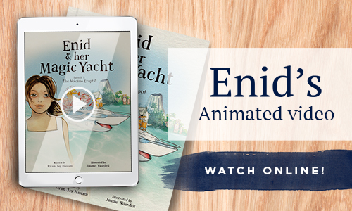 Watch Enid and her Magic Yacht: The Volcano Erupts!