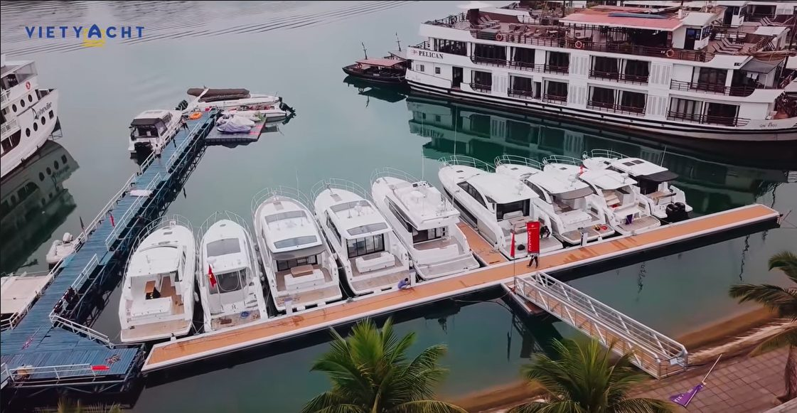 THE JEANNEAU DEALER VIETYACHT OPENS THE FIRST MARINA IN HALONG BAY!