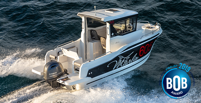 Discover the Merry Fisher 605 Marlin