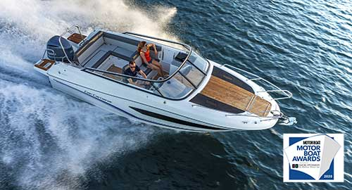 """The Cap Camarat 7.5 DC Series 2:  Highly Commended Outboard in the Category of """"Sportsboats and RIBs"""""""
