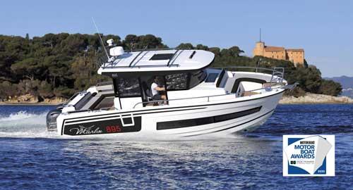 The Merry Fisher 895 Marlin Wins 2020 Motor Boat Award