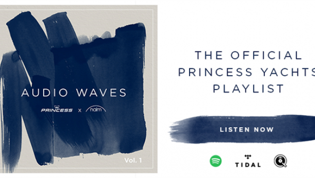 Listen to the official Princess Yachts playlist