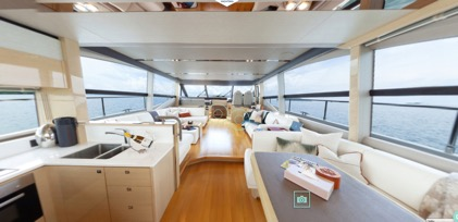 Experience our Princess 68 Virtual Tour