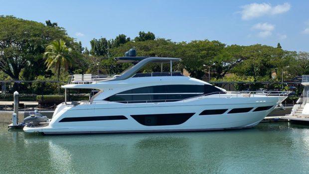 Take a Princess Y78 to Sea for Your Next Exclusive Getaway