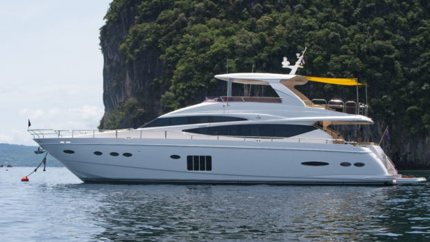 Princess 78 Motor Yacht sold in Thailand