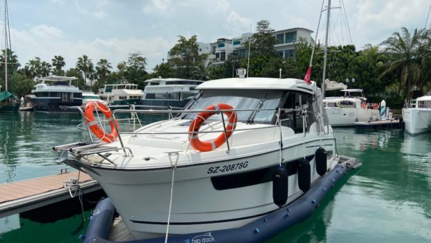 Merry Fisher 895 handover in Singapore