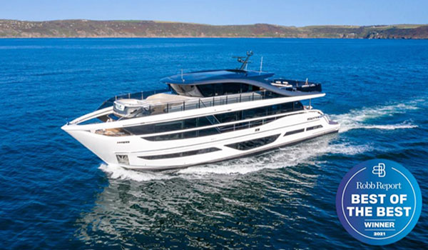 PRINCESS 'SUPERFLY' X95 WINS ROBB REPORT 'BEST OF THE BEST' AWARD