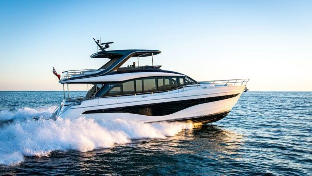 Experience the All New Princess Y72 Yacht