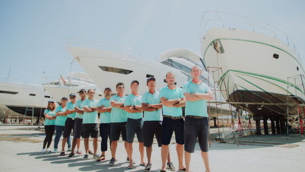Rely on Asia's Premier Yachting Aftersales Service Provider
